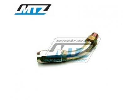 Koleno plynového lanka pro karburátor Mikuni/Keihin PWK (koleno vedení lanka)