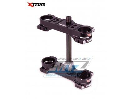 Okuláre (Triple-Clamps) kompletní Xtrig ROCS TECH - KTM 50SX / 21 + Husqvarna TC50 / 21 + Gas-Gas MC50 / 21 - čierne