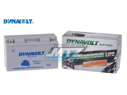 Bátéria motocyklová Dynavolt - FT7BS / YT7-BS / YT7B-4 (12V - 6Ah)