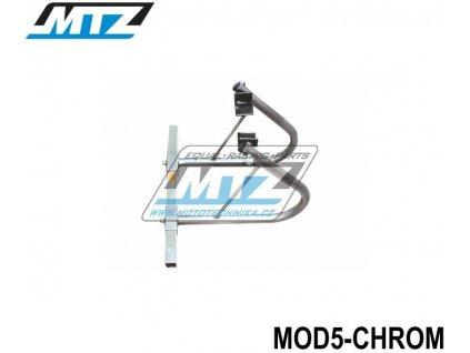 Stojánek zadní Universal (nastavitelná šířka / CHROM)