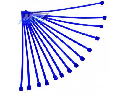 Pásky stahovací (sada 20ks) - rozmer 4,8x280mm - modré