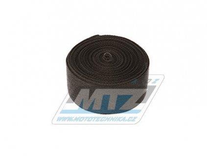 Páska izolační na výfuk 50mm / návin 10m (750°C) - čierna