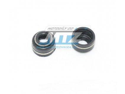 Gufero ventilu (simerink dříku ventilu) - Honda CB250+CB450+XL600 + XL600V Transalp + XR600+XRV650 Africa Twin + XRV750 Africa Twin + VT500+VT750 Shadow + VT1100+VT1300+VTX+NT650+NTV650+TRX700