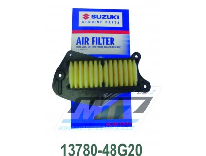Vzduchový filter 1378048G20 - Suzuki VZR1800 Intruder