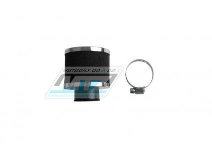 Filter Pitbike s prírubou - priemer 30mm - priamy