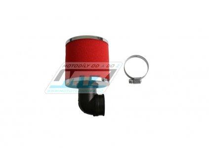 Filter Pitbike s prírubou - priemer 30mm - úhel 90°