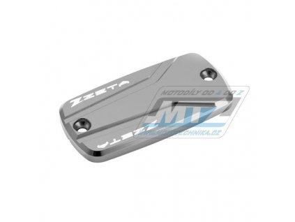 Kryt brzdové nádobky přední a spojkové víčko Honda CB600F, CBR600F, CB650F, CBR650F, NC700X, NC750X, VFR800, CBR1000F, CB1100, CBR1100XX, ST1100, VFR1200X, CB1300, ST1300 - titanový