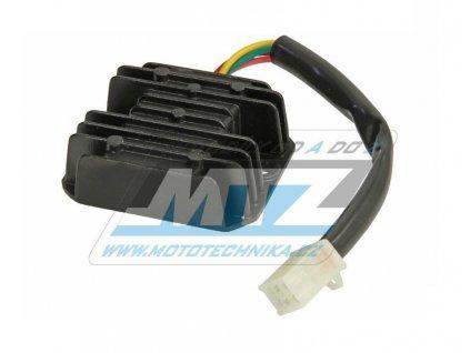 Regulátor dobíjení (4pinový konektor) - čínské skútere+štvorkolky+pitbike (Bashan)