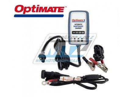 Nabíječka Tecmate Optimate1 - 12V 0,6A (pro kyselinové, AGM a gelové baterie)
