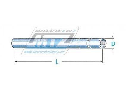 Trubka přední vidlice 31x595mm - Honda CBR125 / 04-10