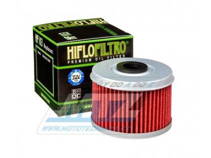 Olejový filter HF103 (HifloFiltro) - Honda CRF250L + CRF250RL Rally + CRF300L + CB300F + CB300R