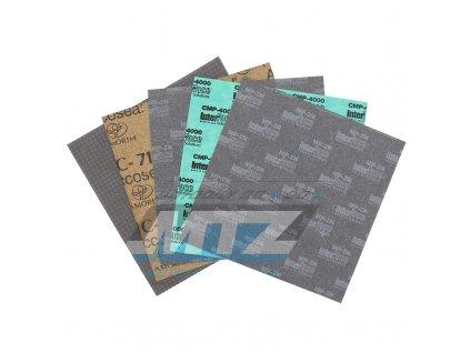Papír na výrobu tesnenie (sada 5 archů 20x20cm)