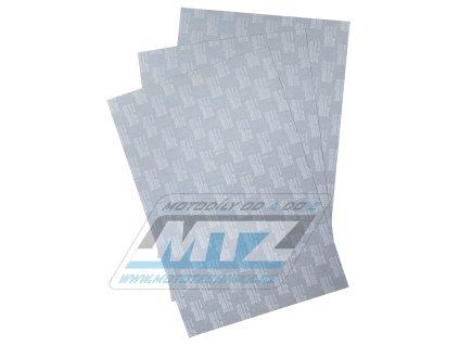 Papír na výrobu tesnenie (sada 3 archů 30x45cm)
