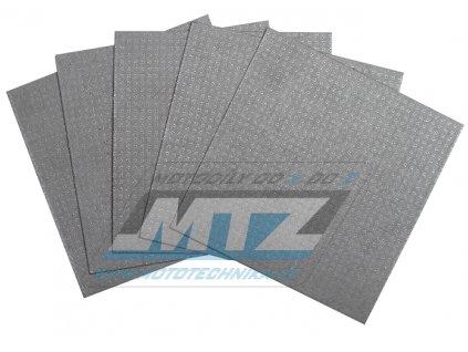 Papír na výrobu tesnenie (sada 5 archů 15x15cm)