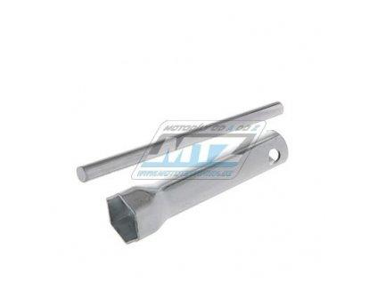 Klíč na svíčku - rozmer 21 mm / dĺžka 100 mm - JAWA+ČZ+SIMSON+MZ