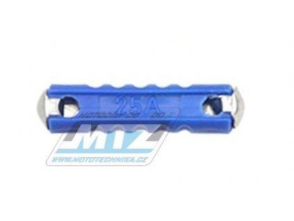 Pojistka válcová plastová 25A (dĺžka 24mm)