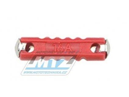Pojistka válcová plastová 16A (dĺžka 24mm)