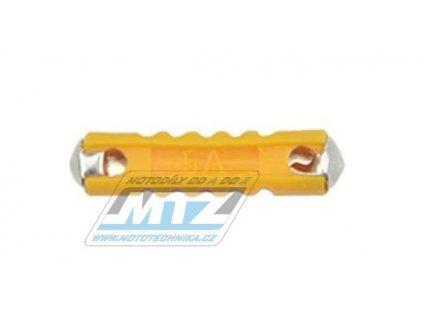 Pojistka válcová plastová 5A (dĺžka 24mm)