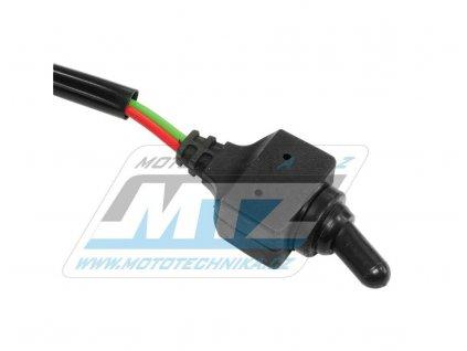 Přepínač páčkový vodotěsný 12V/10A (pro přídavná svetla)