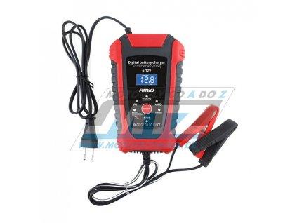 Nabíječka Auto/Moto 6V/12V digitální (pro kyselinové, AGM, SLA a gelové baterie)