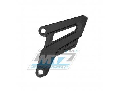 Kryt řetězového kolečka ZETA - Honda CR250 / 02-07 + CRF250R / 04-09 + CRF250X + CRF450R / 08 + Yamaha YZ125 / 05-21 - čierny