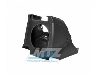 Airbox kompletní Yamaha YZ125+YZ250 / 02-19 - (farba čierna)