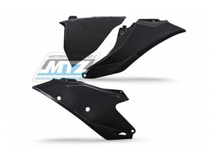 Bočné plasty + ľavý kryt air-boxu Gas-Gas MC+MC-F / 21 + EX+EX-F / 21 + EC+EC-F / 21 (farba čierna)