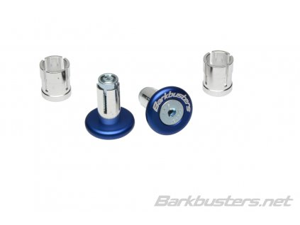 Barkbusters koncovky riadidiel eloxované - modré