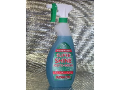 super shine moto wash 750ml 5086