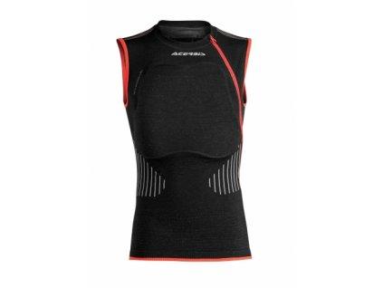 Motokrosový telový chránič ACERBIS X-FIT HALF PRO VESTA - čierna