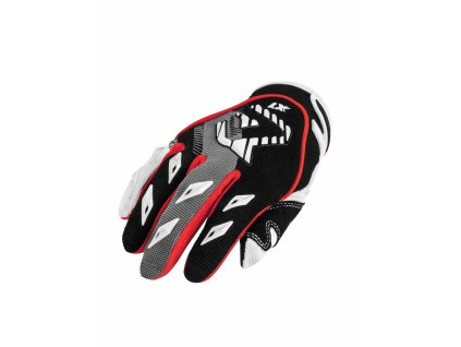 Detské motokrosové rukavice ACERBIS MX KID - čierna