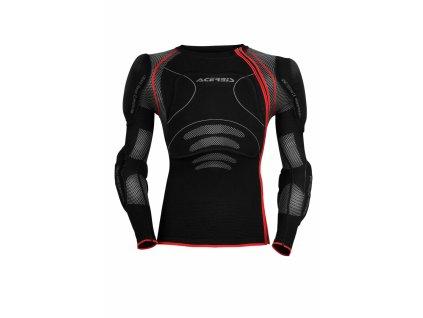 Motokrosový telový chránič ACERBIS X-FIT - čierna