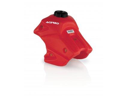 Palivová nádrž ACERBIS HONDA CRF150R 6,5L RED