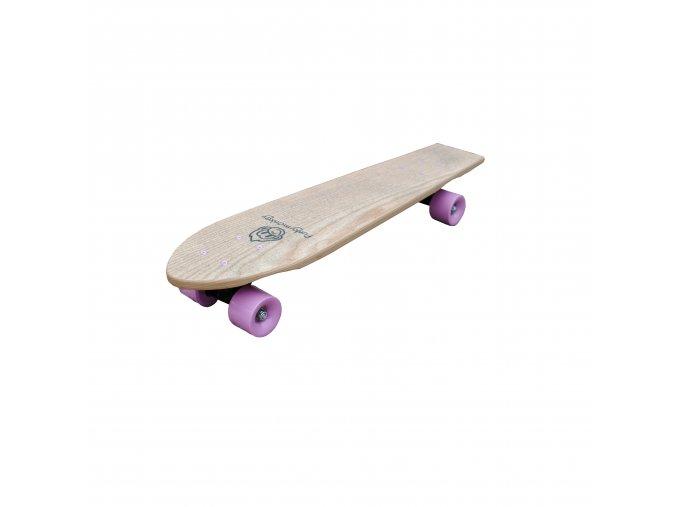 Dřevěný skateboard pro děti Funky Rose Board
