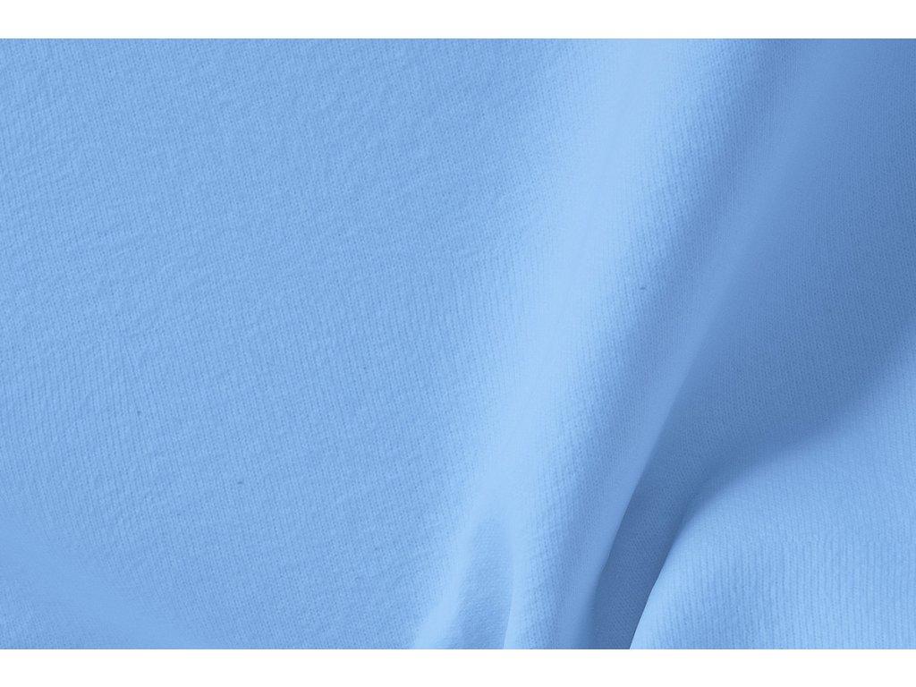 viskoza nebesky modra detail