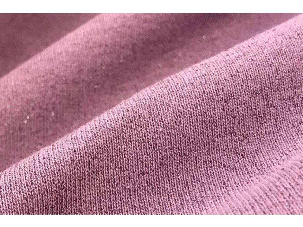 lurex dusty pink
