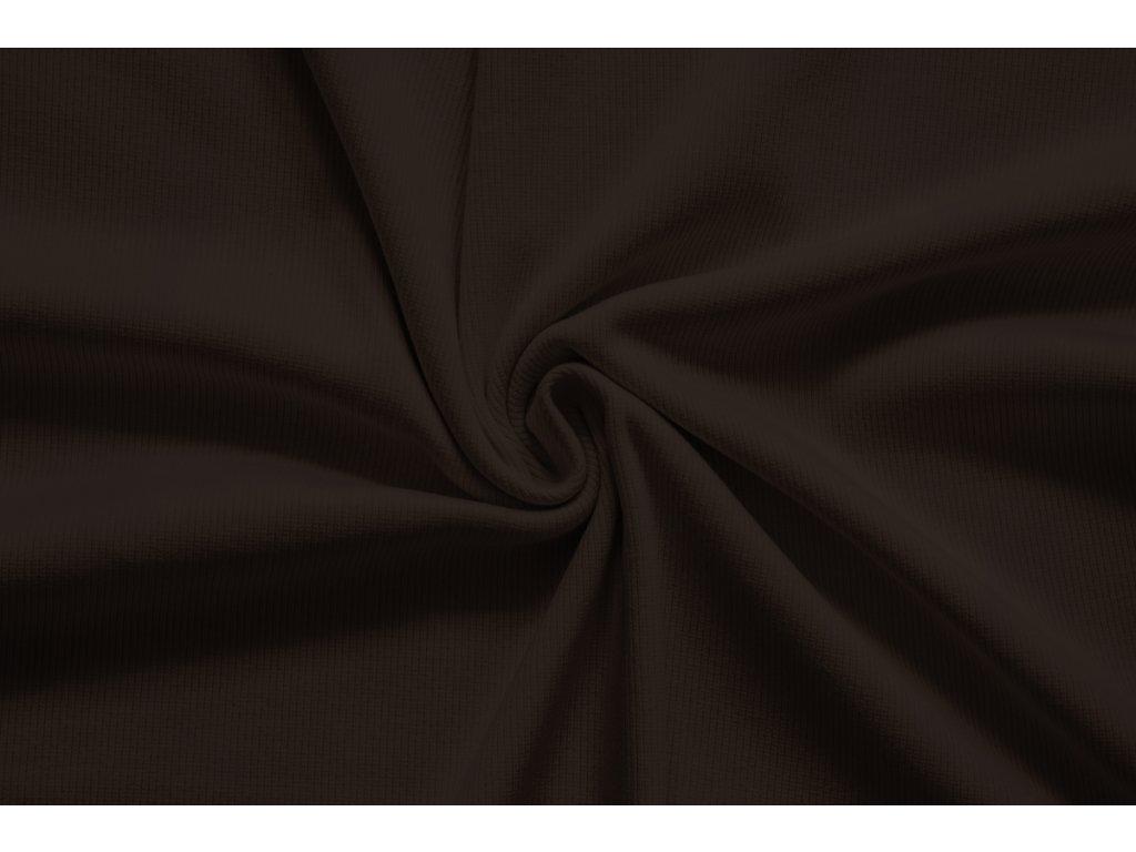 LÁTKY uplet zebrovany brownie