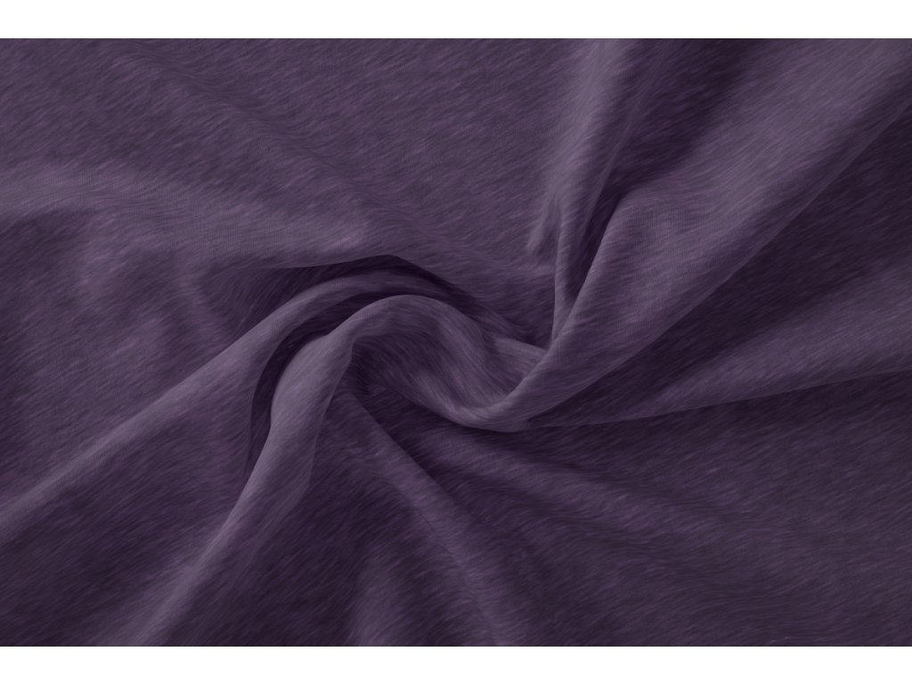 teplakovina fialovy melir