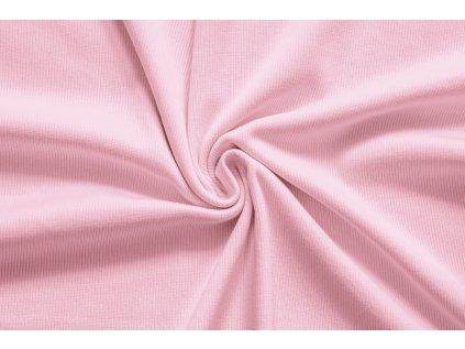 LÁTKY uplet zebrovany baby pink