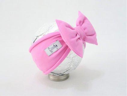 Pískacia čelenka jogurtovo ružová