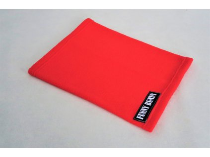 Nákrčník flisový červená