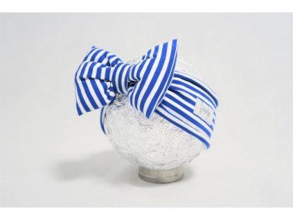 Pískacia čelenka modrý pásik