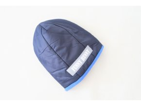 Zimná pískacia čiapka modrá