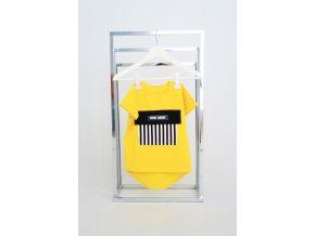 FunnyBunny tričko s vreckom žltá
