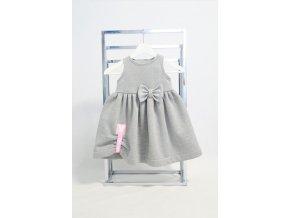 Pískacia šatová sukňa sivá