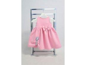 Pískacia šatová sukňa ružová