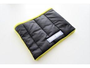 Zimný nákrčník čierna/žltá