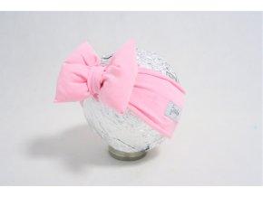 Pískacia čelenka baby ružová