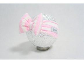 Pískacia čelenka ružový pásik