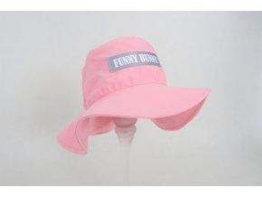 Pískací klobúčik - baby ružová